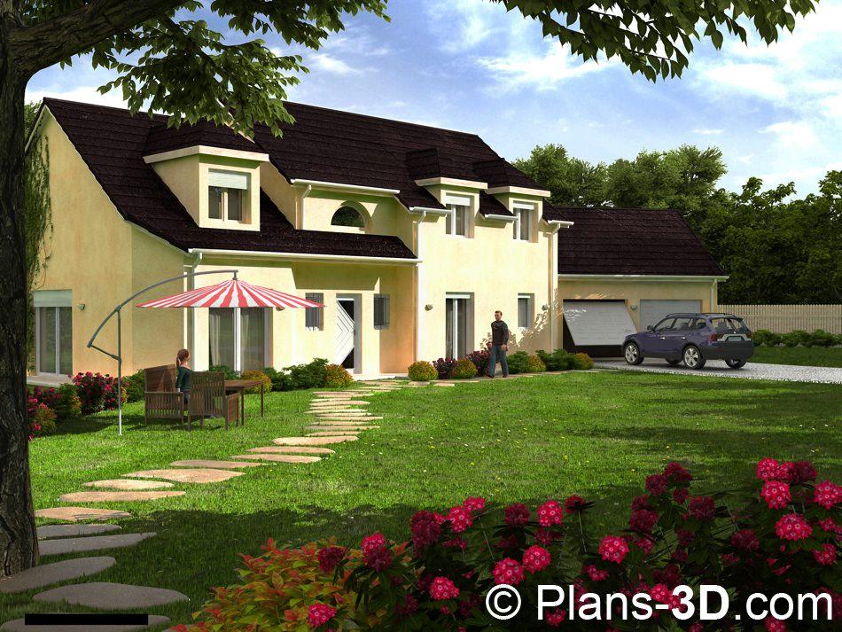3D réalisée pour Demeures Régionales de France