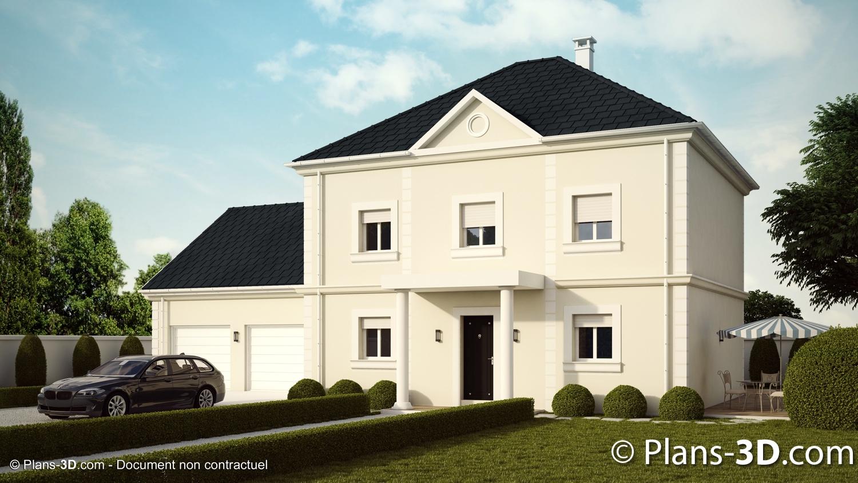 3D réalisée pour Maisons Laure