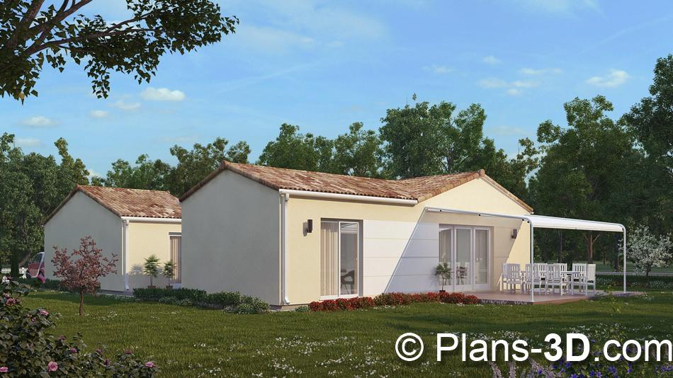 3D réalisée pour Vendée Logement