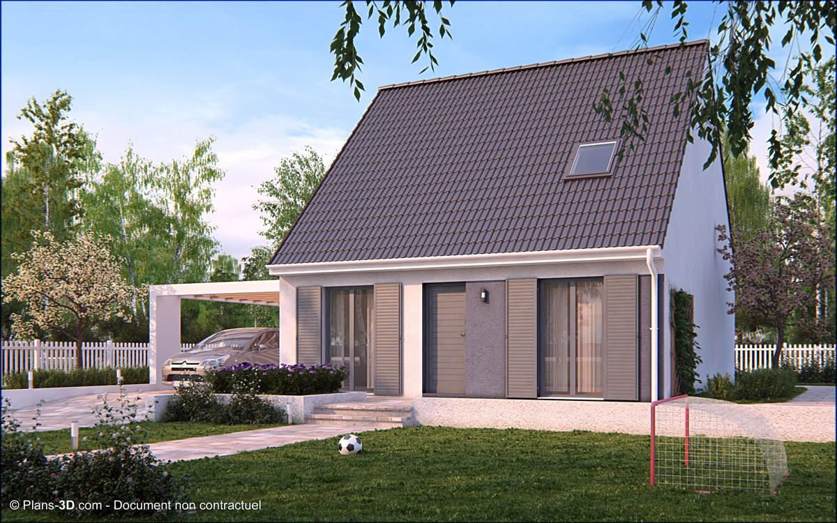 Construire maison en pierre 1 projet de maison en pierre for Maison la pierre
