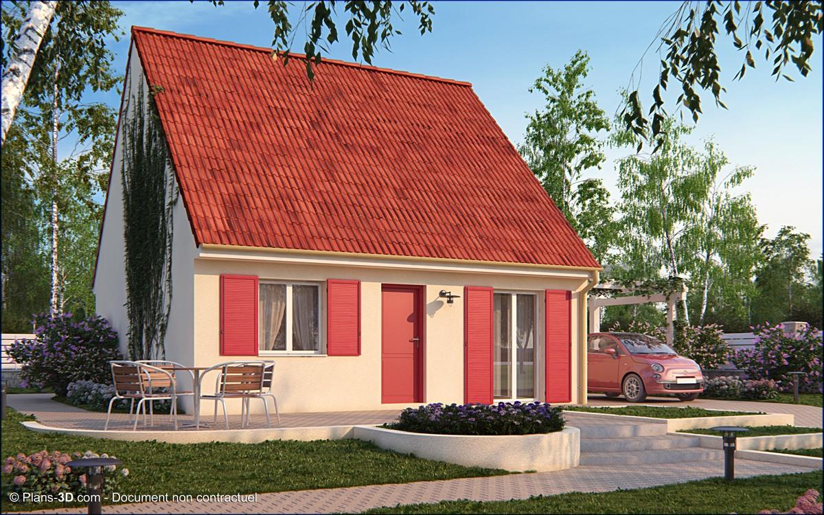 3D réalisée pour Maisons Pierre