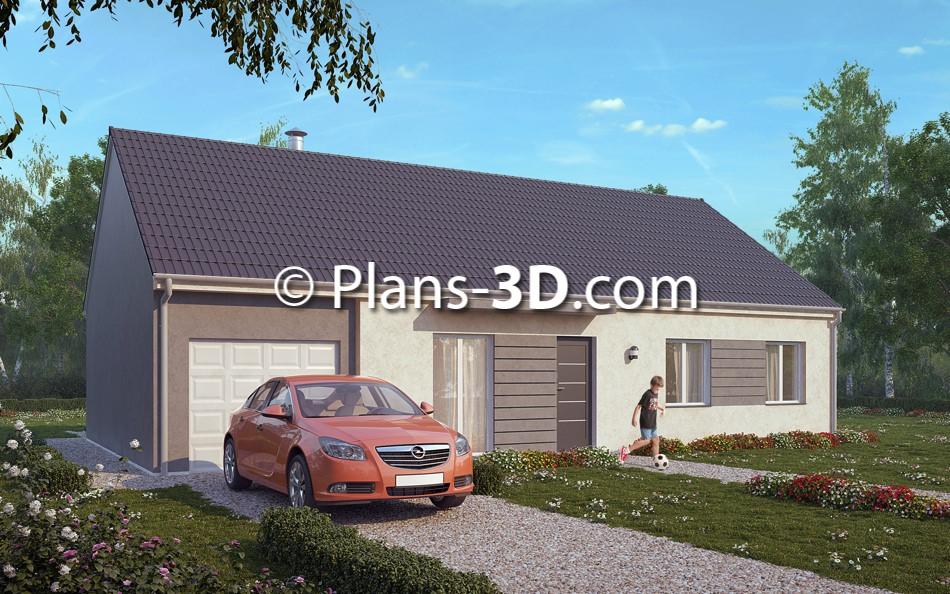 3D réalisée pour Styl Habitat