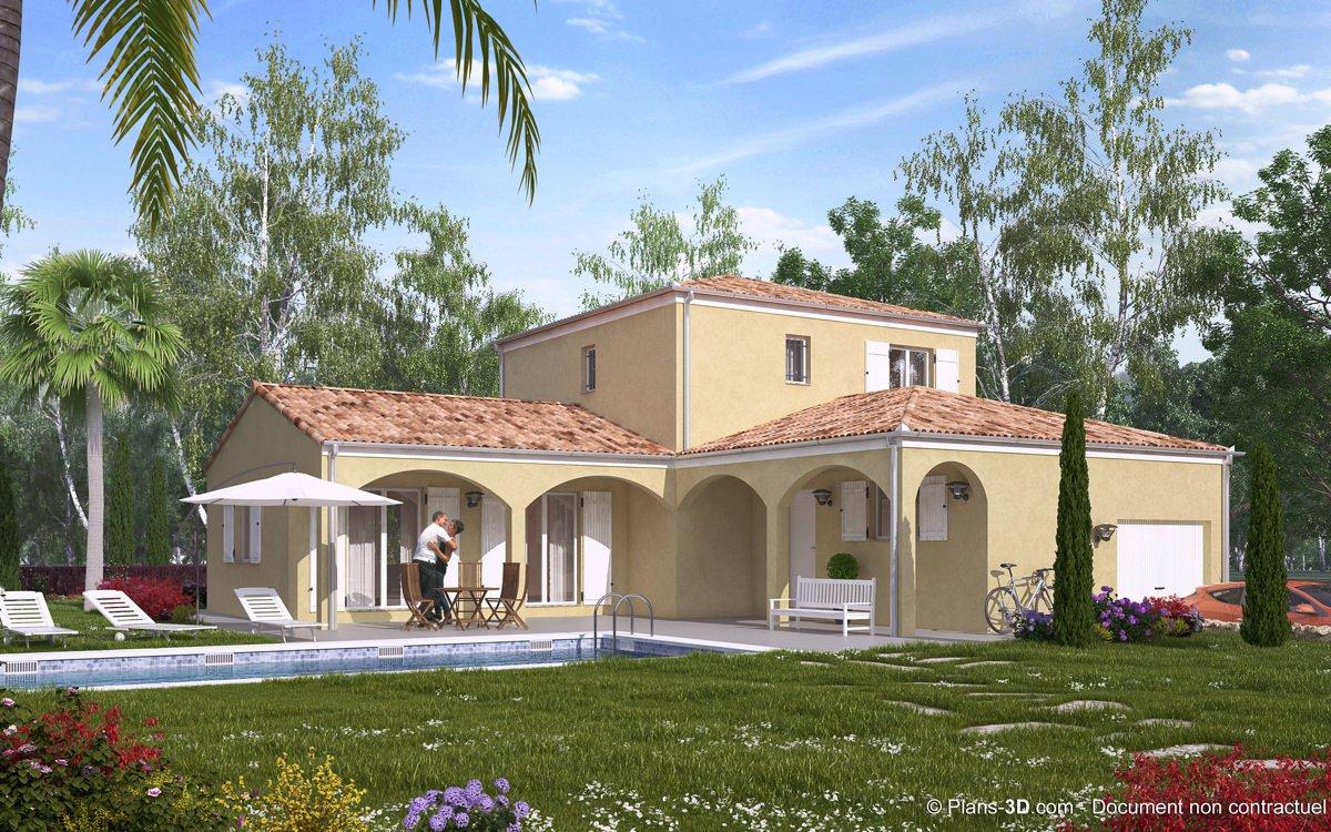 3D réalisée pour Villas Bella