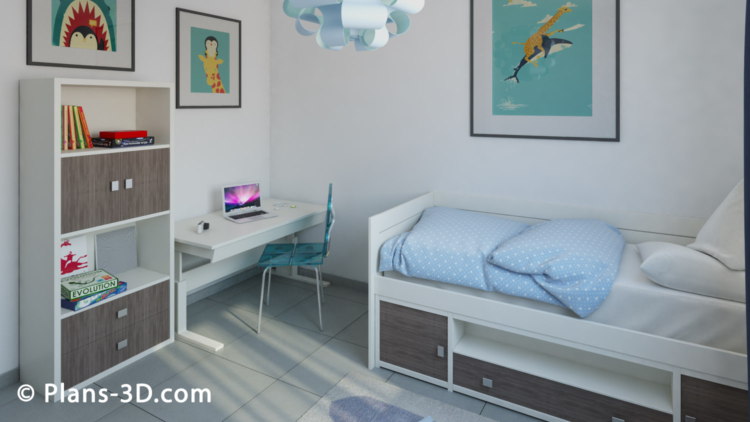 3d chambre awesome design chambre d with 3d chambre for Ikea 3d chambre