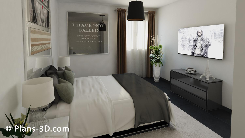 Nouveaux kanape model meuble gascity for for Rideau chambre parents
